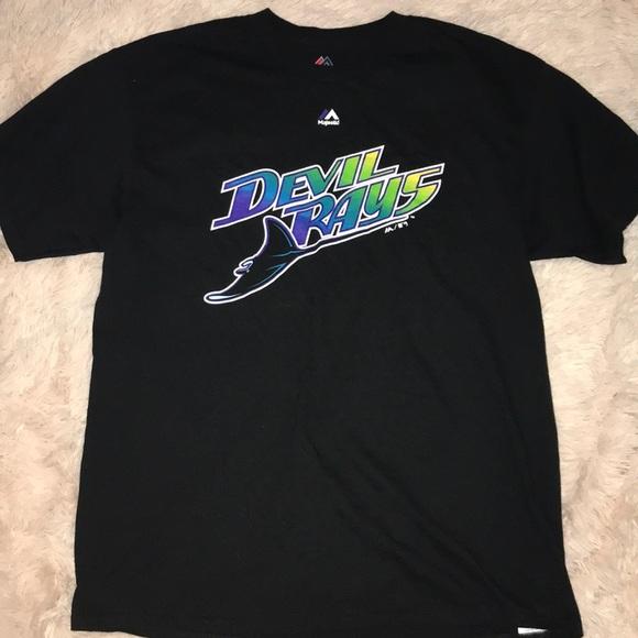 ba80fb55 Majestic Shirts | Mlb Tampa Bay Rays Devil Rays Shirt | Poshmark